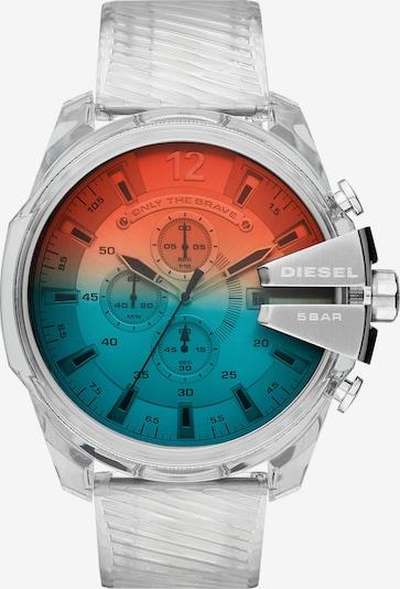 DIESEL Uhr in silber, Produktansicht