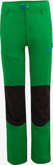TROLLKIDS Outdoorhose 'Hammerfest' in blau / grün / schwarz, Produktansicht