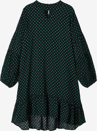 NAME IT Kleid in grün / schwarz, Produktansicht