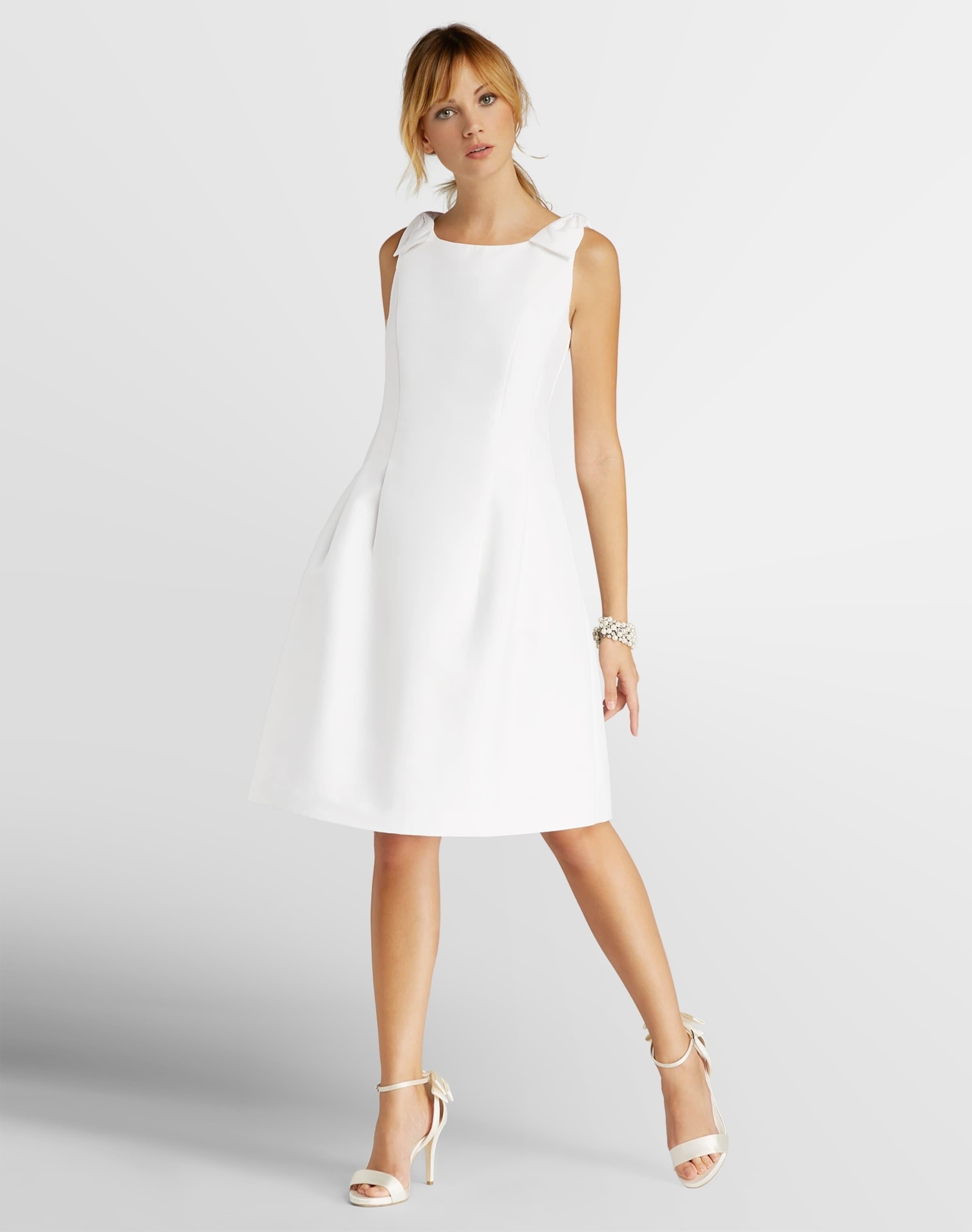 APART Kleid mit Zierschleifen an den Schultern Ausgang Wählen Eine Beste Sammlungen Günstiger Preis Steckdose Footaction JXg8lVvMFn