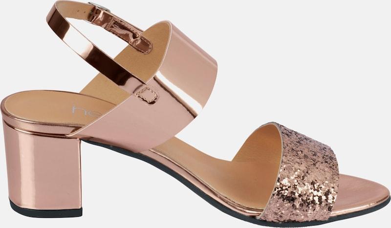 Haltbare Mode Schuhe billige Schuhe heine | Sandalette mit Rüschen Schuhe Mode Gut getragene Schuhe 54371a