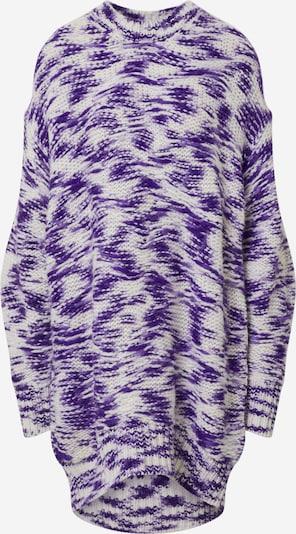 DIESEL Robe 'M-Heaht' en violet / blanc, Vue avec produit