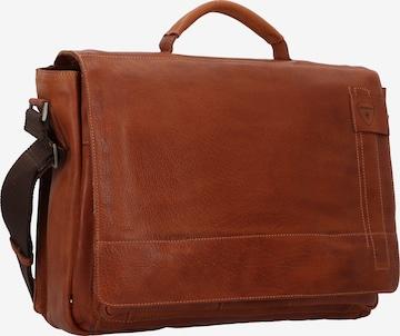 STRELLSON Upminster Aktentasche 40 cm Laptopfach in Braun