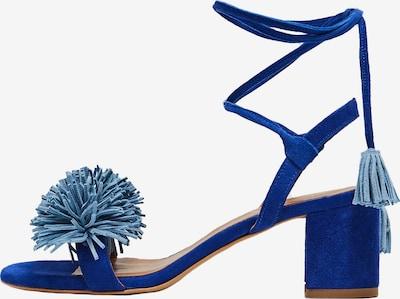 IZIA Sandales à lanières en bleu, Vue avec produit