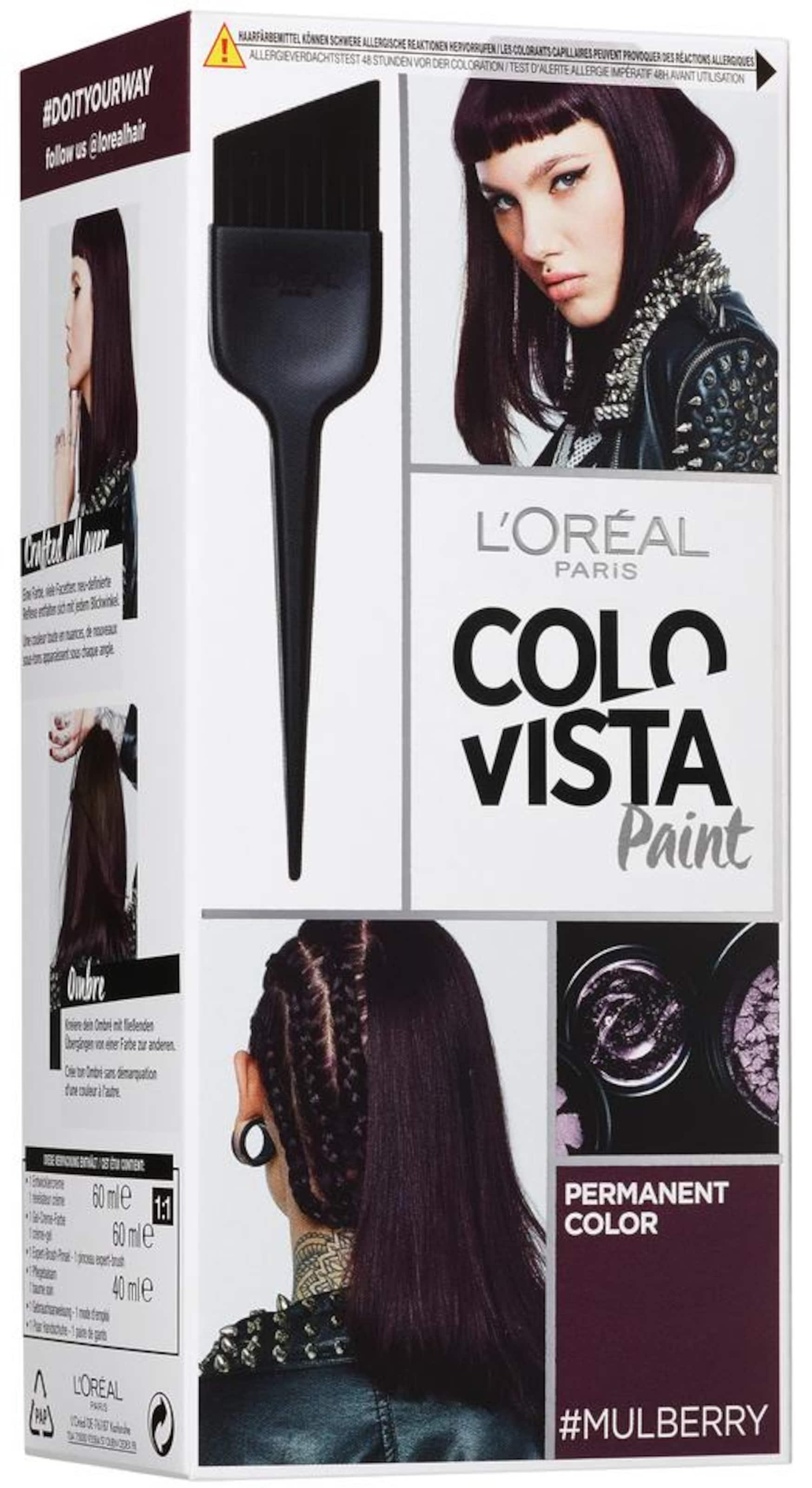 L'Oréal Paris 'Colovista Permanent Paint', Coloration