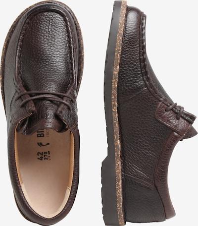 BIRKENSTOCK Chaussure à lacets 'Pasadena Ace Walk' en brun foncé: Vue de profil