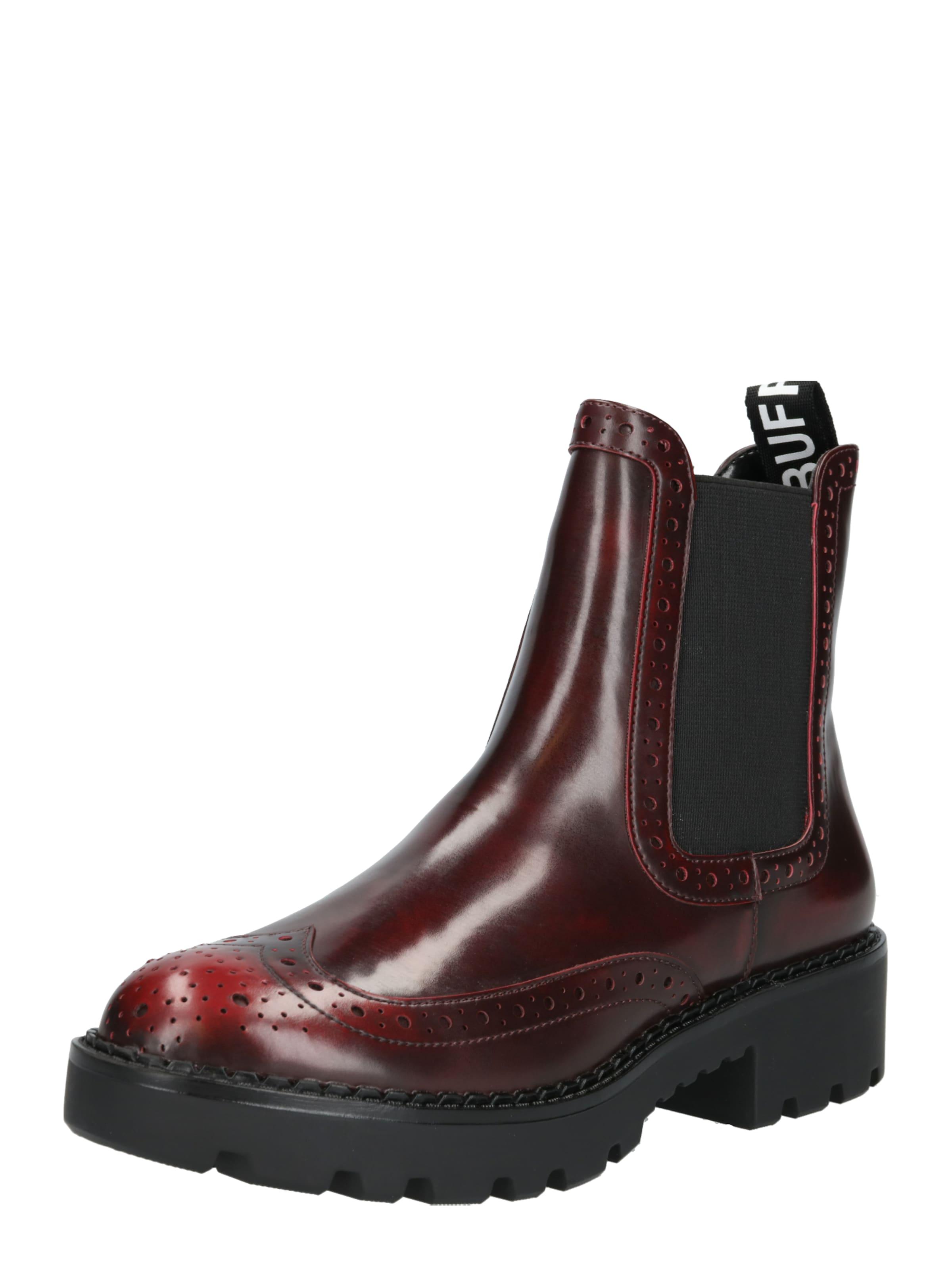 Chelsea Boot Buffalo 'fini' In Blutrot m8vNn0w