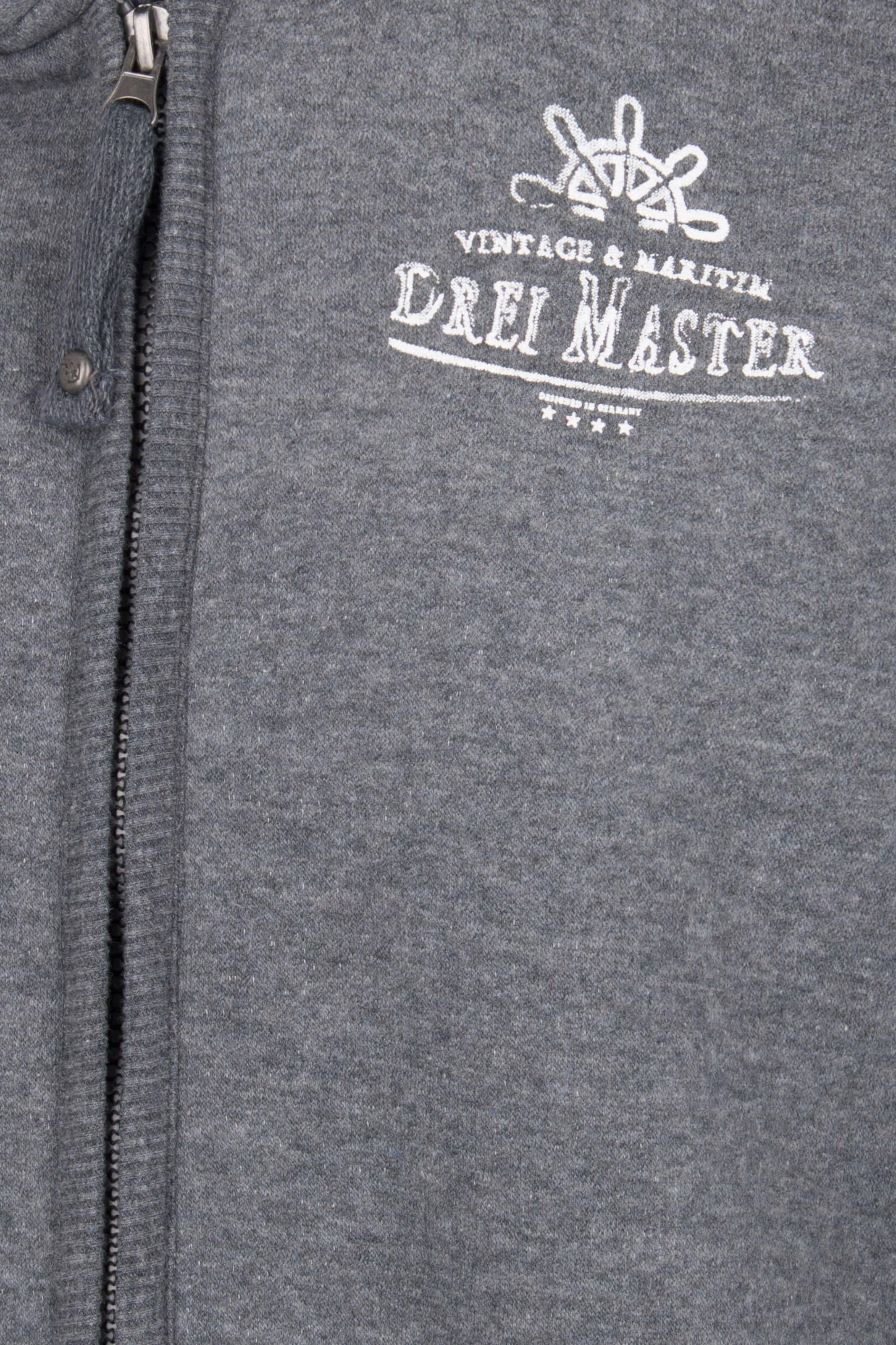 Grau In Sweatjacke In Dreimaster In Sweatjacke Grau Sweatjacke Dreimaster Dreimaster Grau hQdrtsC