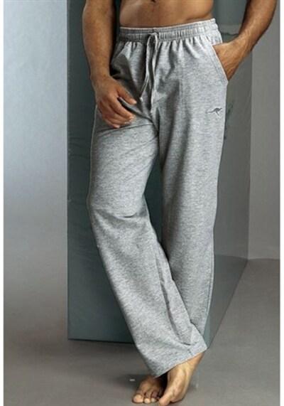 KangaROOS Pyžamové kalhoty - šedý melír, Model/ka