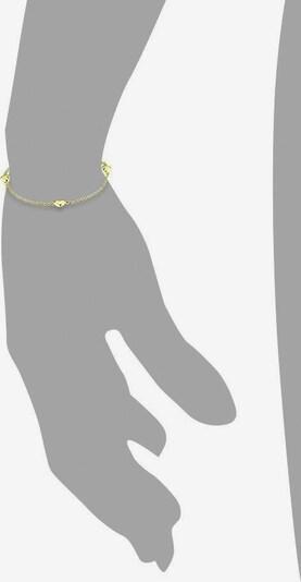 AMOR Armband 'Herzen, 2017354' in gold, Produktansicht
