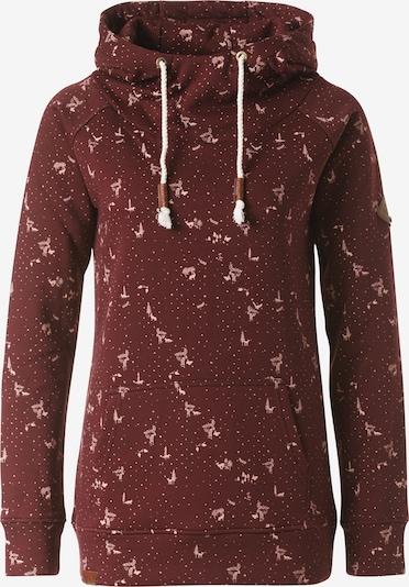 Lakeville Mountain Pullover 'Muni' in rosa / dunkelrot, Produktansicht