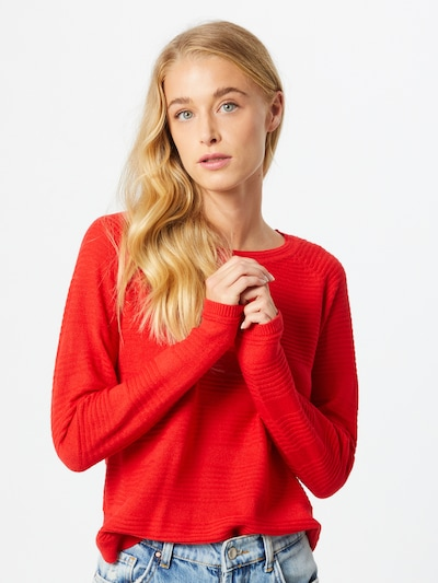 ONLY Pullover 'Caviar' in melone, Modelansicht