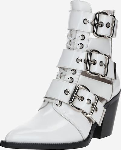 Jeffrey Campbell Boots 'CACERES-CL' en blanc, Vue avec produit