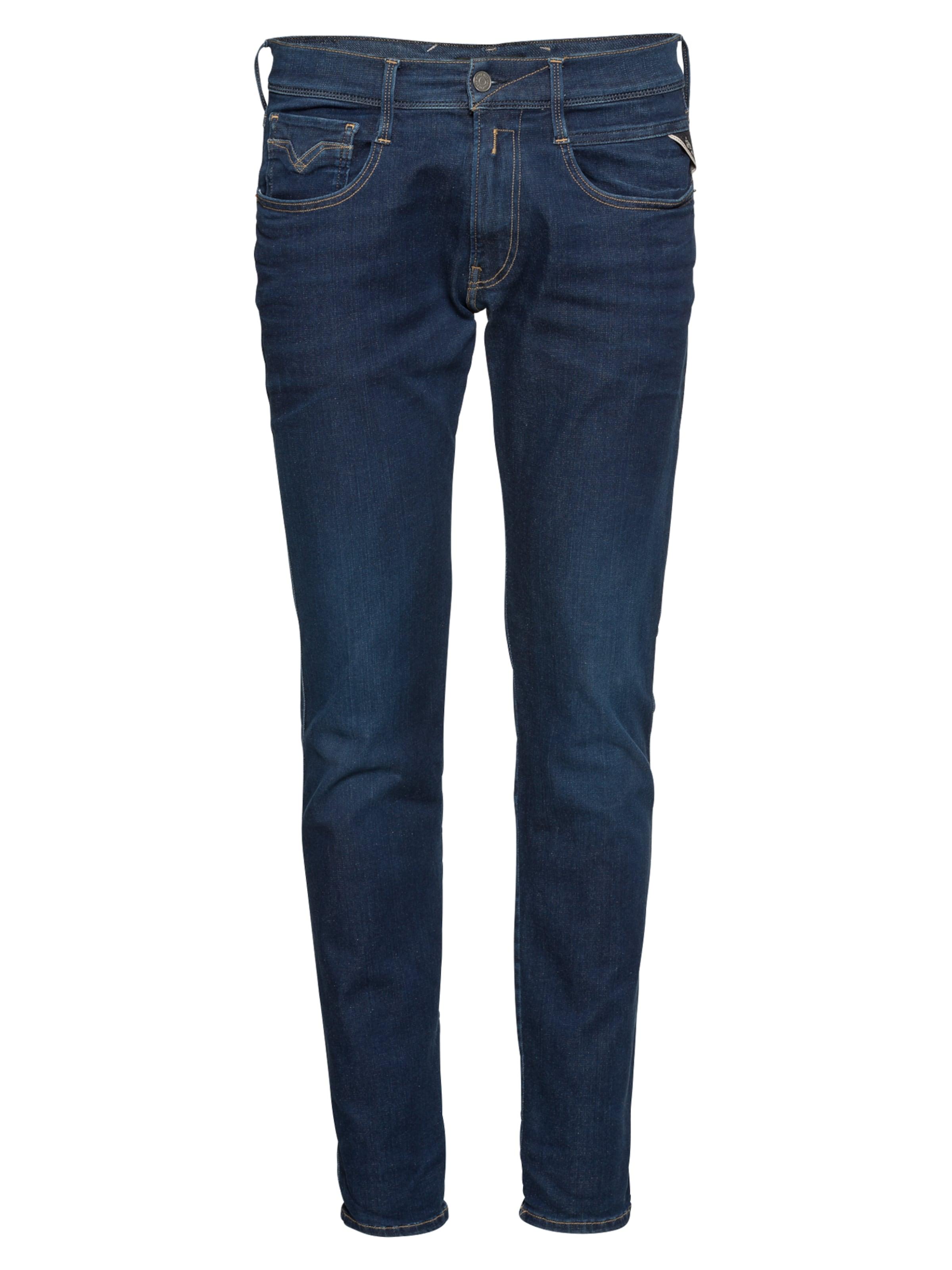 'anbass' In Replay Denim Jeans Blue kwTPiOXuZ