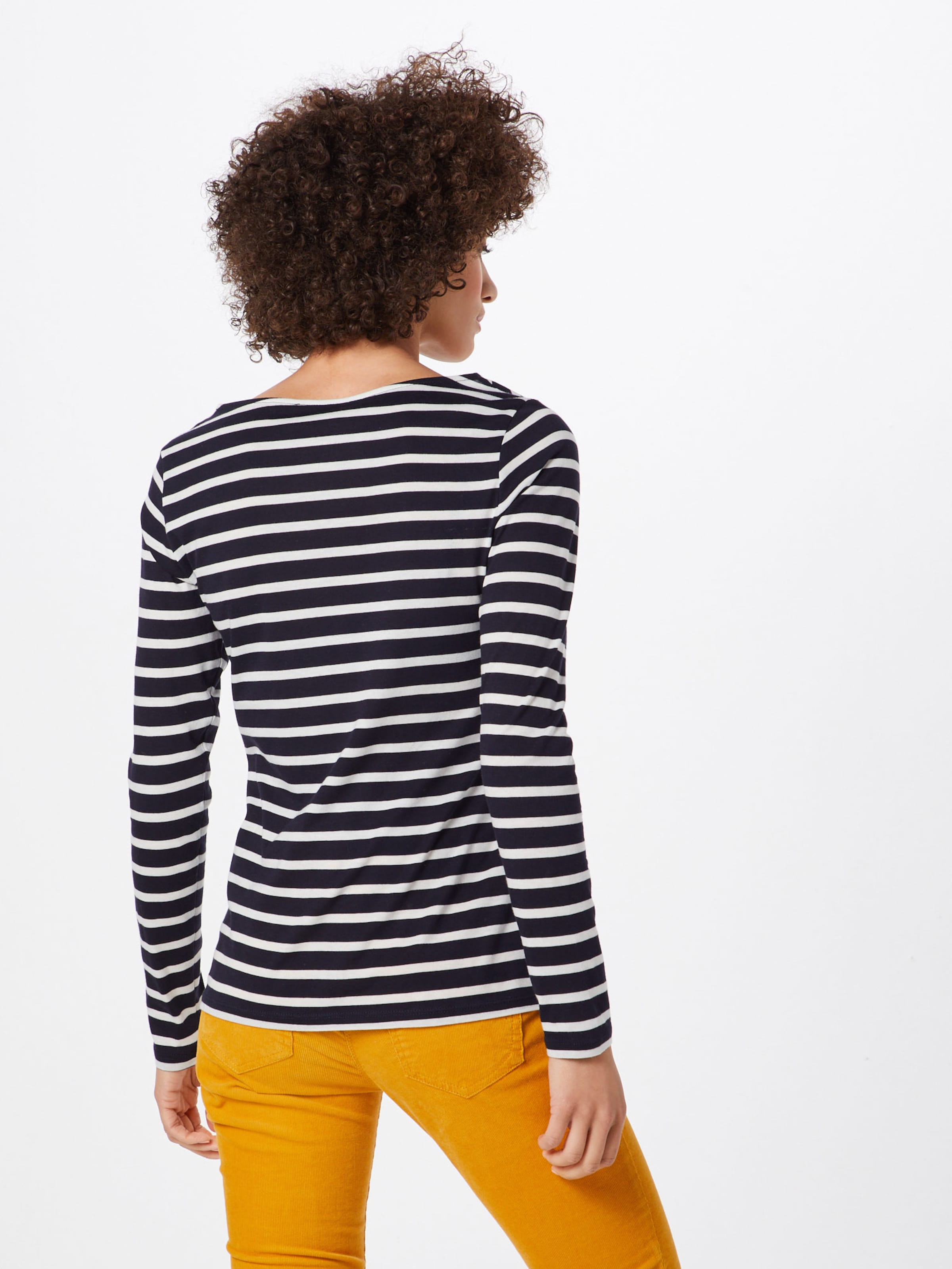 Shirt Moreamp; 'striped Active' In MarineWeiß D2bEeWH9IY
