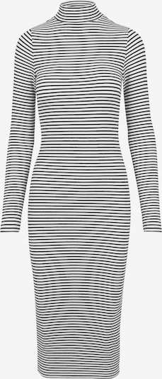 Rochie Urban Classics pe negru / alb: Privire frontală