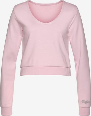 BUFFALO Sweatshirt in Pink
