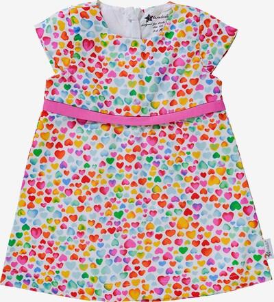 STERNTALER Kleid in blau / grün / pink / rot / weiß, Produktansicht