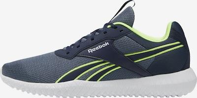 REEBOK Sportschoen in de kleur Navy / Neongroen, Productweergave