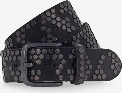b.belt Handmade in Germany Nietengürtel in schwarz, Produktansicht