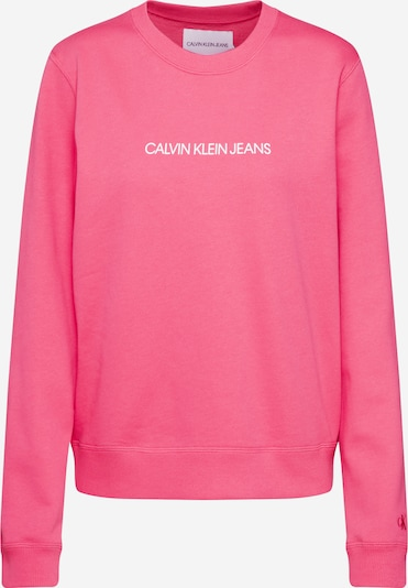 Calvin Klein Sweatshirt 'INSTITUTIONAL' in pink, Produktansicht