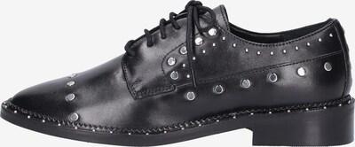 BRONX Chaussure à lacets en noir / argent, Vue avec produit