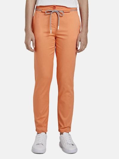 TOM TAILOR Chinohose in orange, Modelansicht