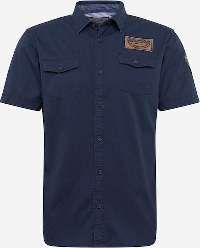 Dalykiniai marškiniai 'Shirt SS' iš Petrol Industries , spalva - tamsiai mėlyna, Prekių apžvalga