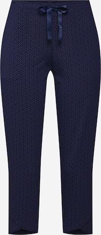 SCHIESSER Pyjamasbukse i blå