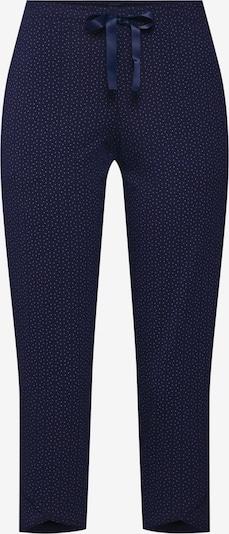 SCHIESSER Pantalon de pyjama en bleu nuit: Vue de face