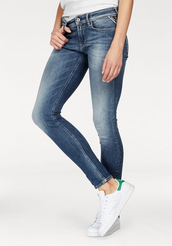 REPLAY Skinny-fit-Jeans 'LUZ COINZIP'