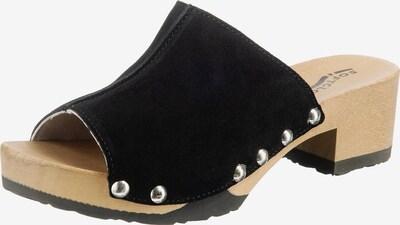 SOFTCLOX Clogs 'Pauli' in schwarz, Produktansicht