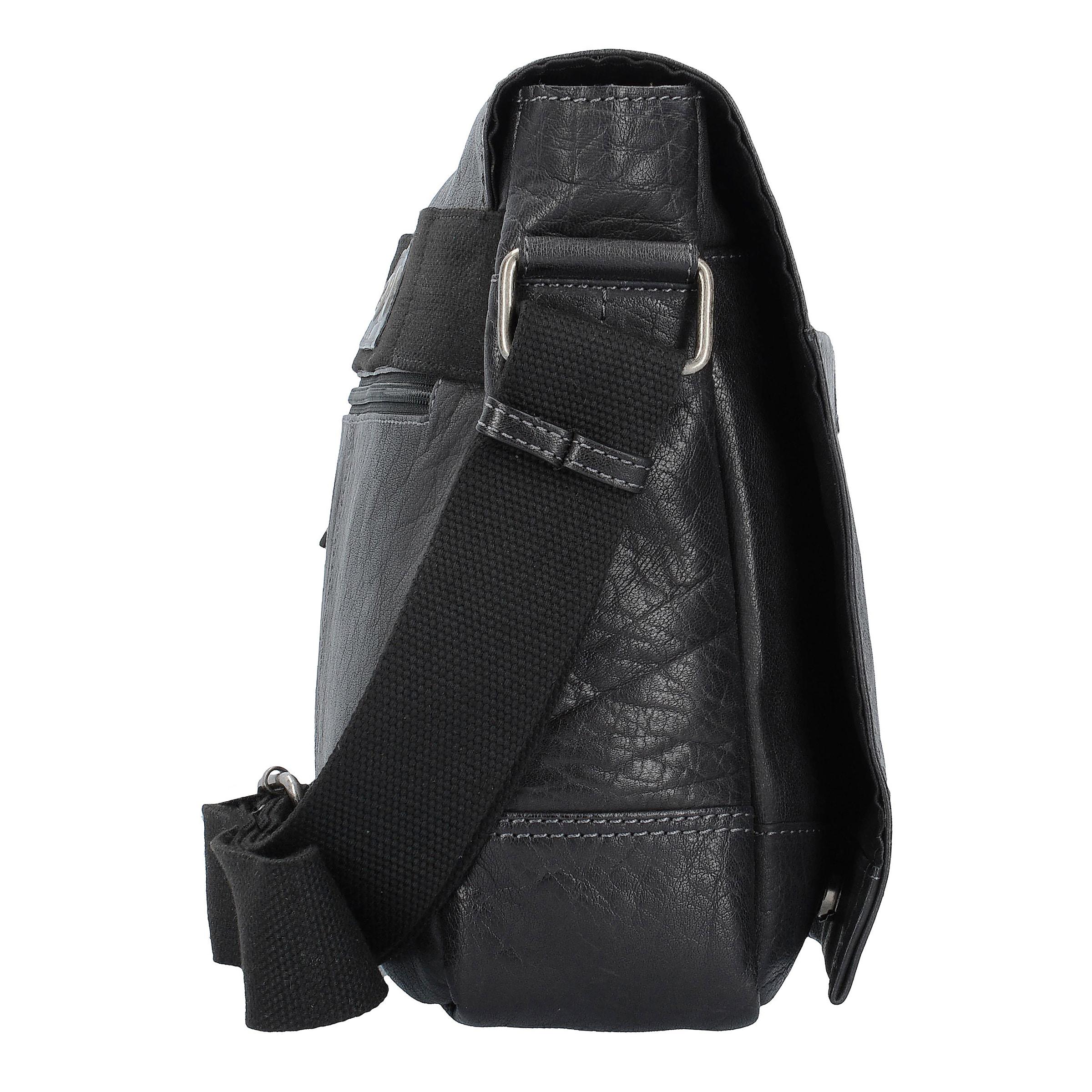 CAMEL ACTIVE Ontario Messenger Businesstasche Leder 40 cm Laptopfach Steckdose Authentisch giWrxIcl