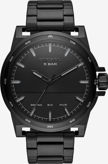 DIESEL Uhr in schwarz: Frontalansicht
