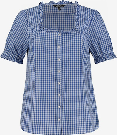 Ulla Popken Bluse in blau / weiß, Produktansicht