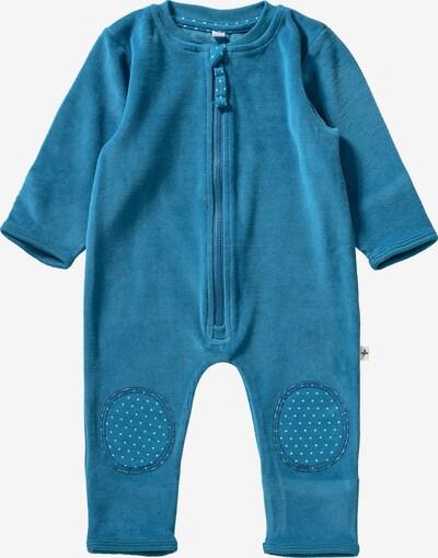 Leela COTTON Strampler in blau / aqua, Produktansicht