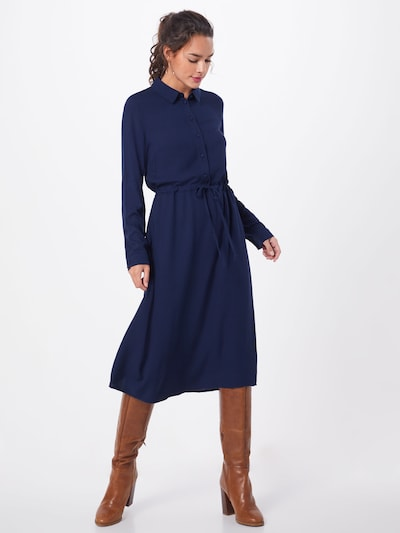 VILA Blūžkleita 'XA L/S SHIRT DRESS /KA' pieejami kamuflāžas: Priekšējais skats