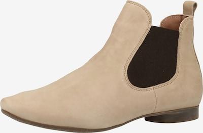 THINK! Chelsea Boots in cappuccino / dunkelbraun, Produktansicht