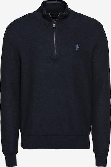 POLO RALPH LAUREN Sweter 'PIMA COTTON-LS TEXTURE HZ PP' w kolorze ciemny niebieskim, Podgląd produktu