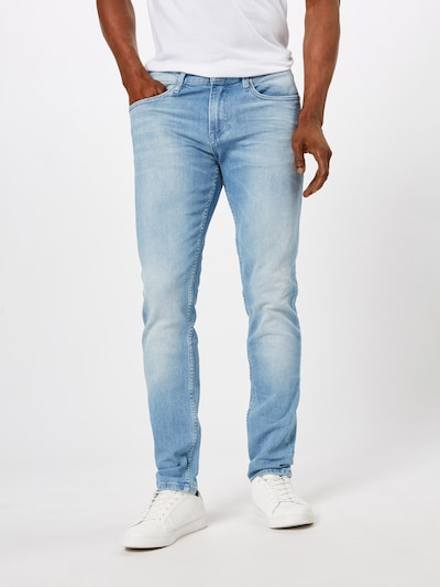 Tommy Jeans Jeans 'Slim Tapered Steve Mmphs' in blau, Modelansicht