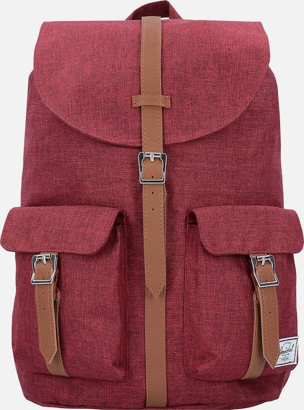 herschel rucksack 39 dawson 39 in rot about you. Black Bedroom Furniture Sets. Home Design Ideas