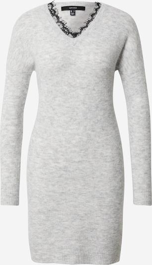 Vero Moda Petite Pletena haljina 'Iva' u svijetlosiva / crna, Pregled proizvoda