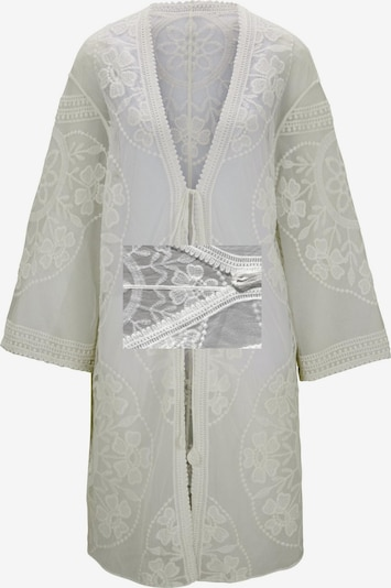 heine Kimono en blanc, Vue avec produit