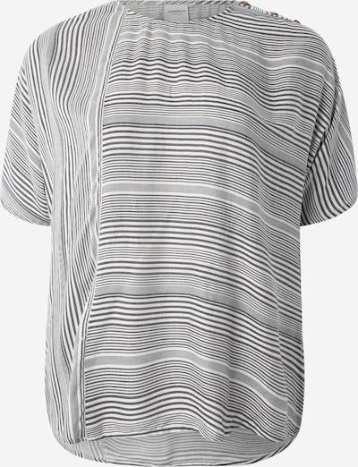 Junarose T-shirt 'JRADYA' en bleu / blanc, Vue avec produit