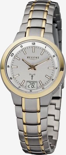 REGENT Uhr in gold / silber, Produktansicht