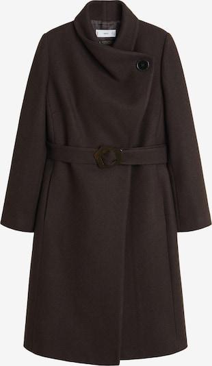 MANGO Manteau mi-saison 'VENUS6' en brun foncé, Vue avec produit