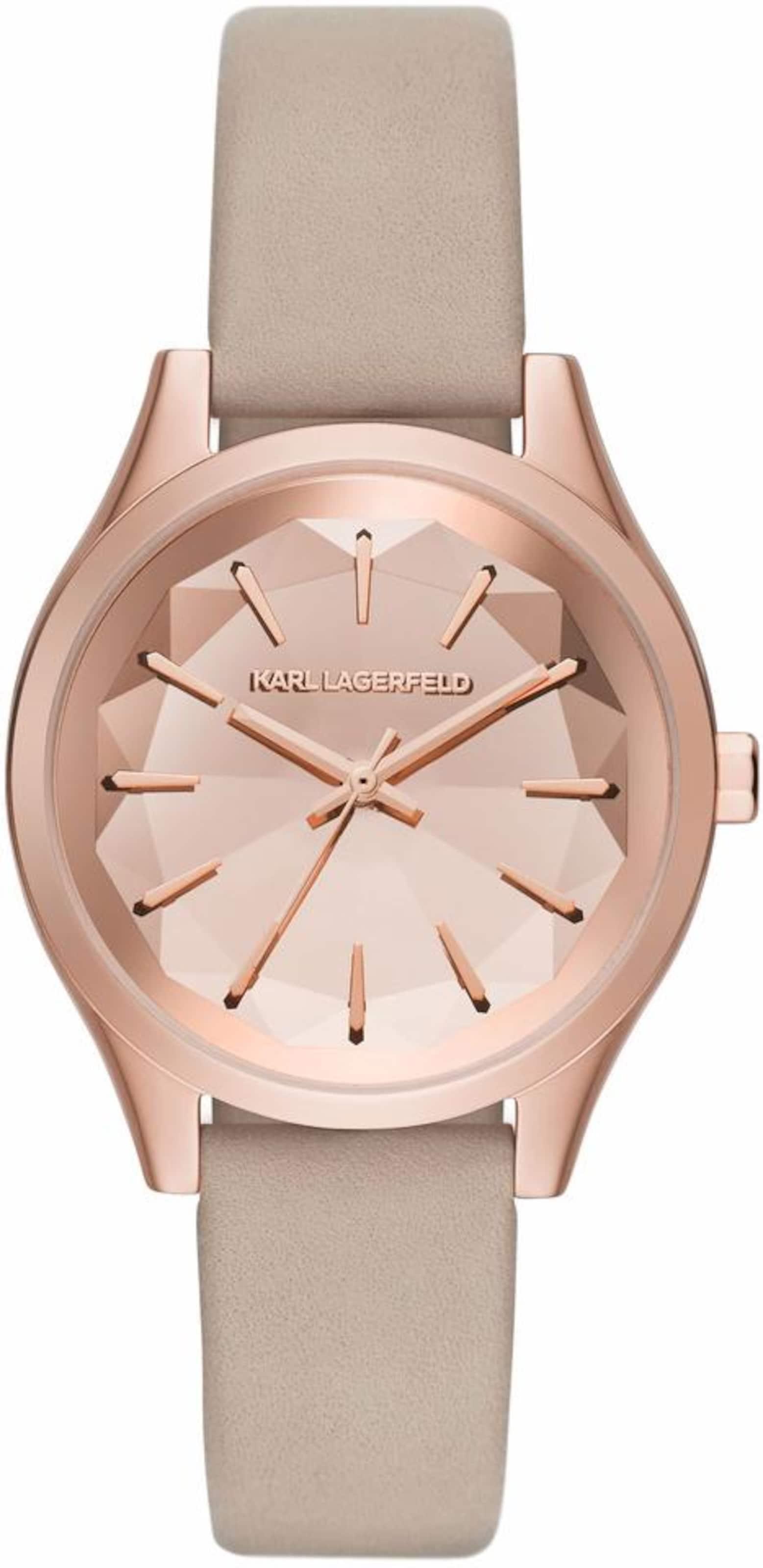 Mode-Stil Günstig Online Karl Lagerfeld Quarzuhr 'JANELLE' Shop-Angebot Verkauf Online Günstig Kaufen Top-Qualität Günstige Angebote oLOA0J
