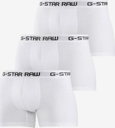 G-Star RAW Boxershorts in schwarz / weiß, Produktansicht