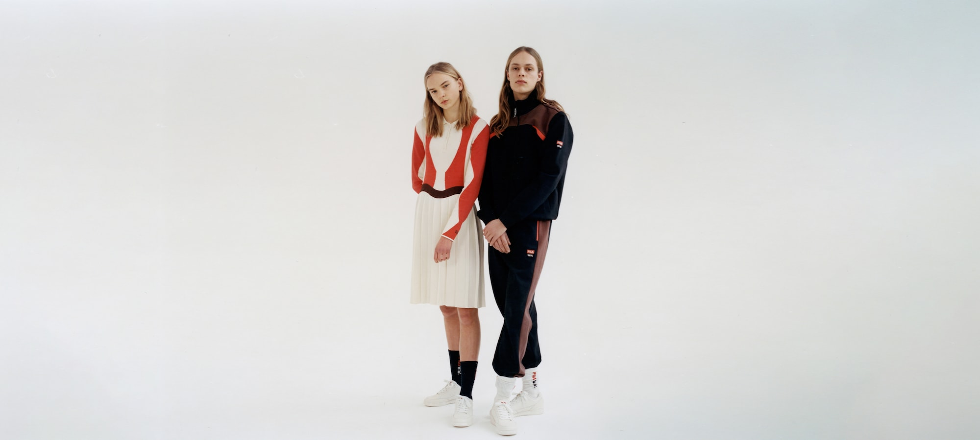 Fila and Wood Wood have teamed up for doubles Fila by Wood Wood