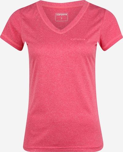 ICEPEAK T-shirt fonctionnel 'SOSIE' en rouge, Vue avec produit